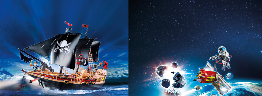 PLAYMOBIL® - Des pirates dans l'espace et des astronautes en mer