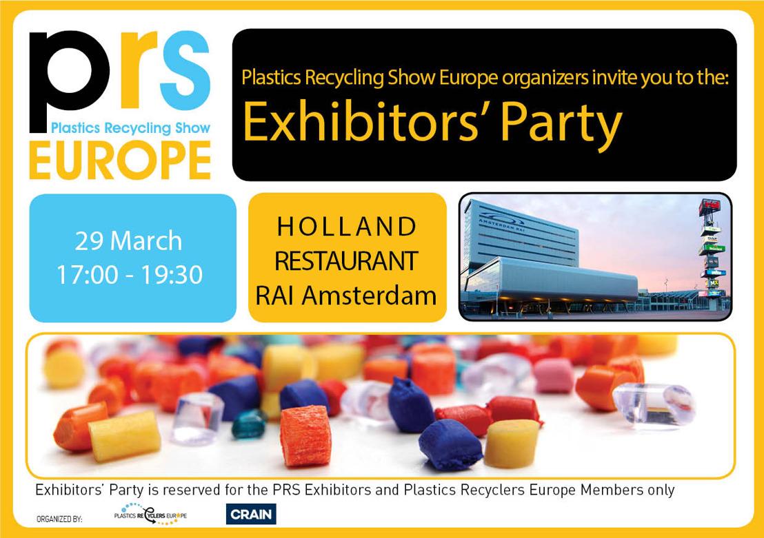PRSE Exhibitors' Party | 29 March 2017 | RAI Amsterdam