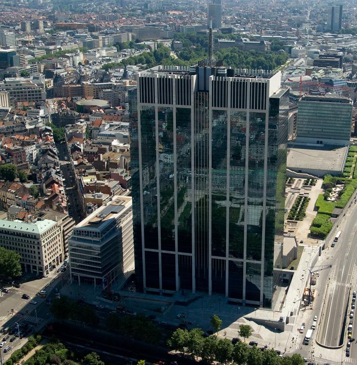 Preview: Breevast et ZBG concluent la vente de la Tour des Finances de Bruxelles à Meritz pour plus d'1,2 milliard d'euros