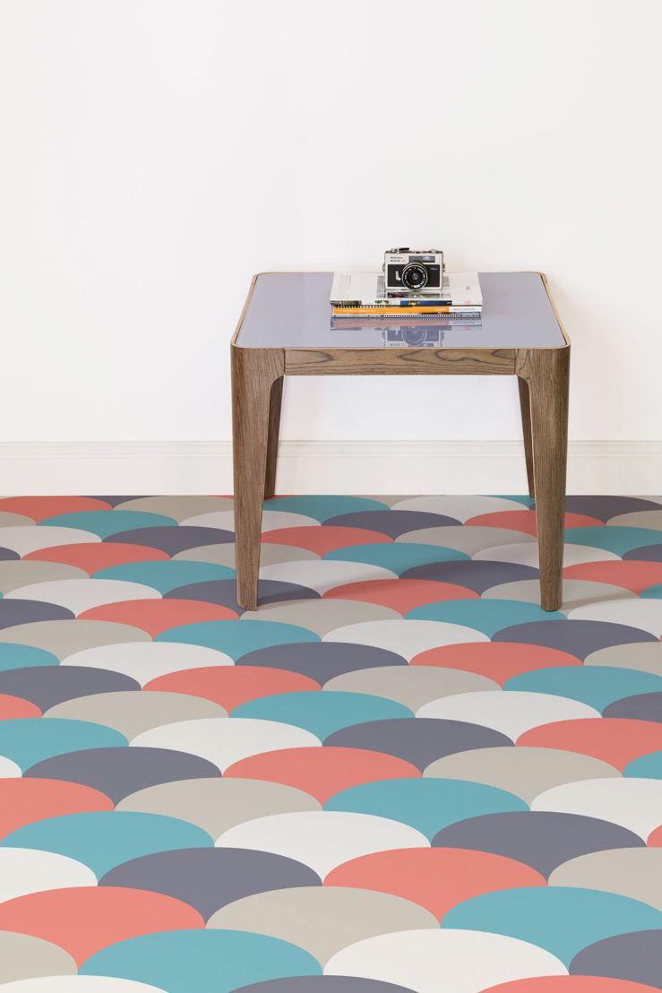 Sherbet | Pastel Pattern Vinyl Flooring