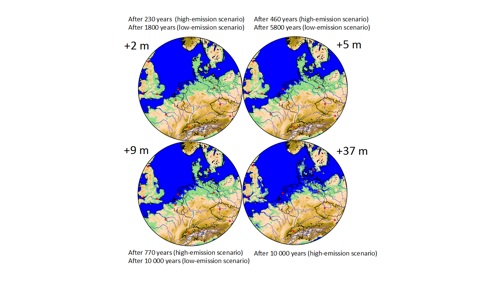Effects of global warming visible for tens of thousands of years