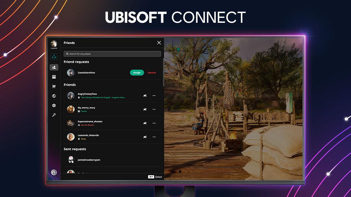 Ubisoft Connect bringt Millionen von Spielern zusammen und ist somit der ideale Weg, um sich mit Freunden zu verbinden oder an Events und Aktivitäten teilzunehmen.
