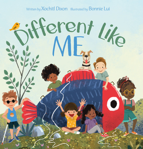New Book, Different Like Me, Encourages Kids to Celebrate Diversity