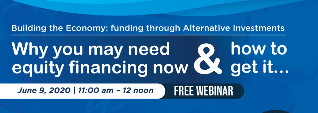 Building the Economy: Funding through Alternative Investments