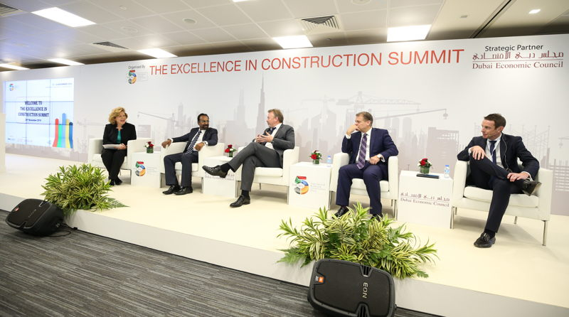 Panel Discussion at The Excellence in Construction Summit 2016