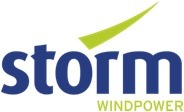 Storm perskamer Logo