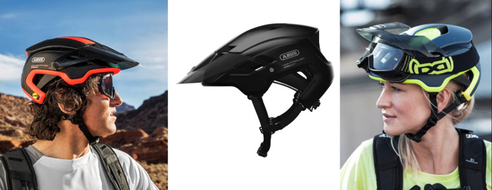 The ABUS MonTrailer Helmet Series