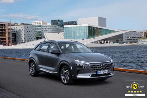 All-New Hyundai NEXO obtient cinq étoiles lors de l'EuroNCAP