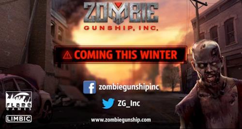 flaregames' Action-Shooter Zombie Gunship, Inc. wird noch im Winter 2016 erscheinen