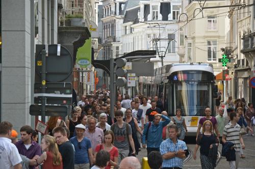 De Lijn op weg naar recordaantal reizigers tijdens Gentse Feesten