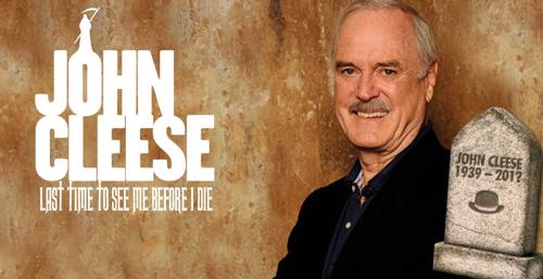 John Cleese is coming back to Belgium