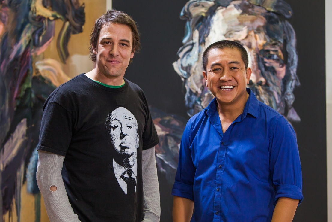 Samuel Johnson and Anh Do
