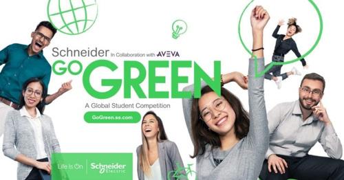 Schneider Electric ouvre les inscriptions pour le concours Go Green destiné aux étudiants
