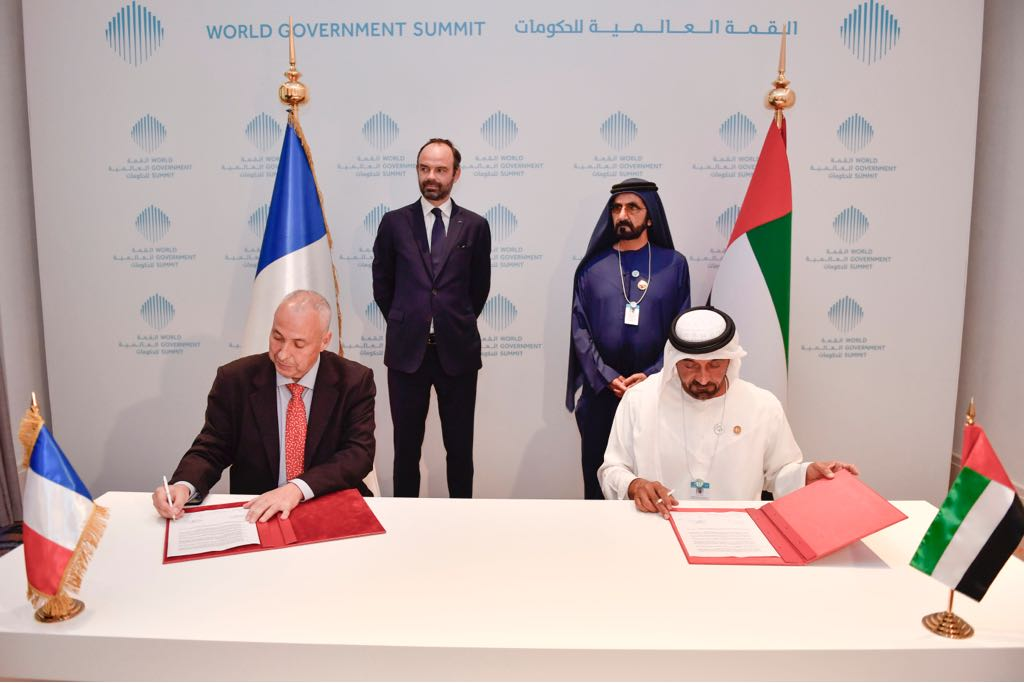 : Emirates firms up its latest order for 36 additional Airbus A380 aircraft worth US$16 billion. HH Sheikh Ahmed bin Saeed Al Maktoum, Chairman and Chief Executive, Emirates airline and Group signed the agreement today with Mikail Houari, President Airbus Africa Middle East, at the World Government Summit in Dubai, in the presence of HH Sheikh Mohammed bin Rashid Al Maktoum, Vice President and Prime Minister of the United Arab Emirates, ruler of the Emirate of Dubai and Edouard Philippe, Prime Minister of France.