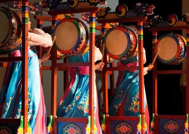 Korean Drums (photo credit by Aurora Theatre)
