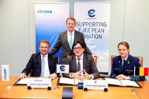Les prestataires de services de navigation aérienne vont gérer l'espace aérien belge avec un seul système