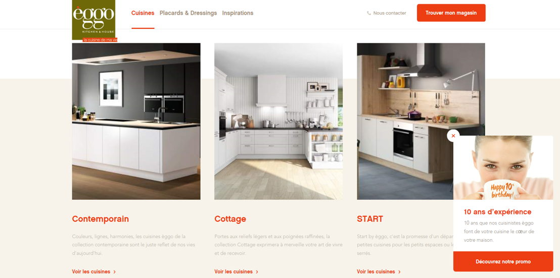 Nouveau site web @èggo