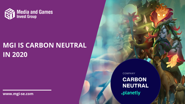 Preview: Media and Games Invest SE brings carbon transparency into its operations with Planetly