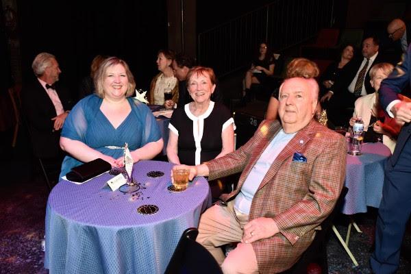 Kate, Peg, and Bill Balzer (Honorees)
