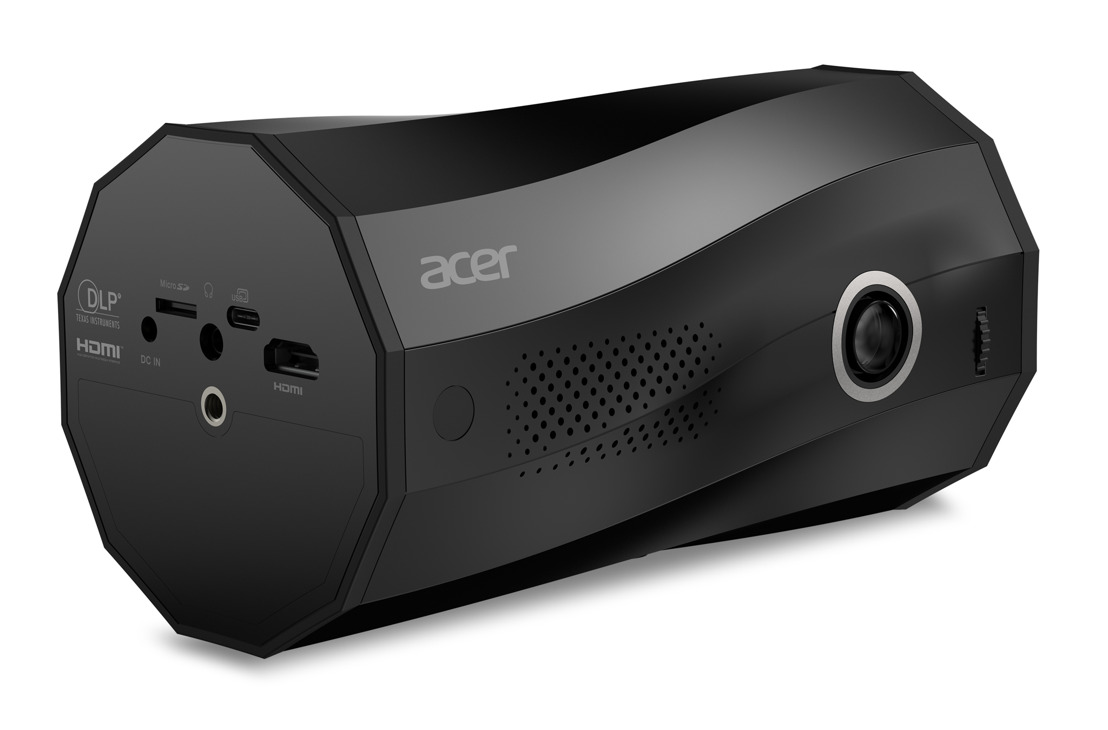 Acer Releases C250i Portable LED Projector with Multi-Angle