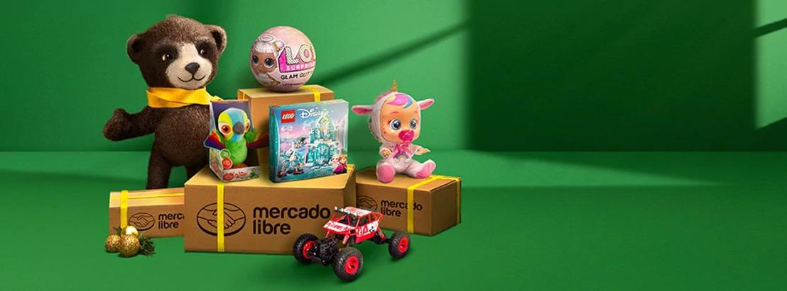 Descubre los mejores juguetes de Mercado Libre para esta Navidad