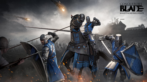 CONQUEROR'S BLADE RELEASES KNIGHTS & SQUIRES UPDATE