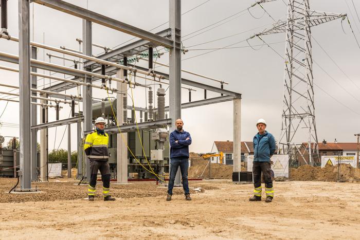 Fluvius moderniseert transformatorstation in Bree