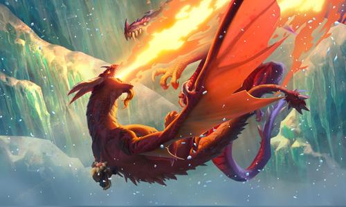 Вышло новое дополнение Hearthstone «Натиск драконов»