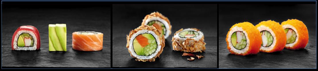 Sushi Daily ontwikkelt 3 nieuwe recepten  om uw smaakpapillen te verrassen!