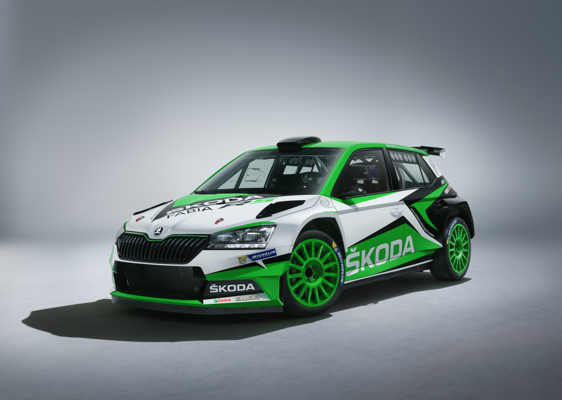 ŠKODA FABIA R5: Update for the most successful rally car of its category