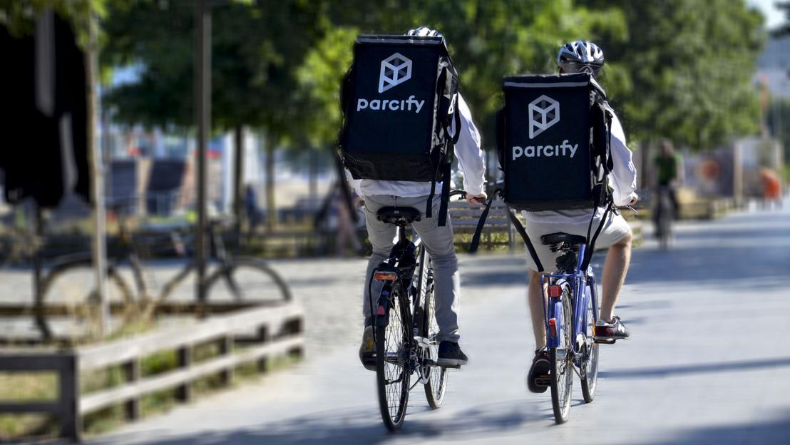 Parcify komt naar Gent, koploper op het gebied van pakjeslevering
