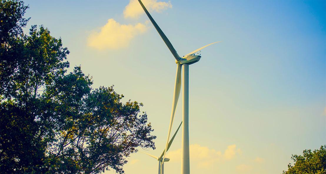 Buurtbewoners genieten mee van de winsten  van het nieuwe windpark in Geel.