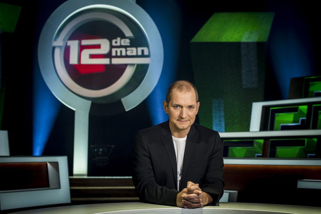 Karl Vannieuwkerke in De 12de man (c) VRT