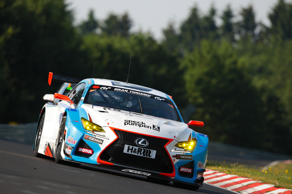 LEXUS RC F GT3 WINS CLASS ON VLN SERIES DEBUT