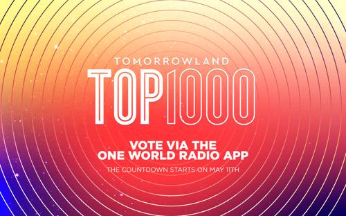One World Radio kicks off the Tomorrowland Top 1000