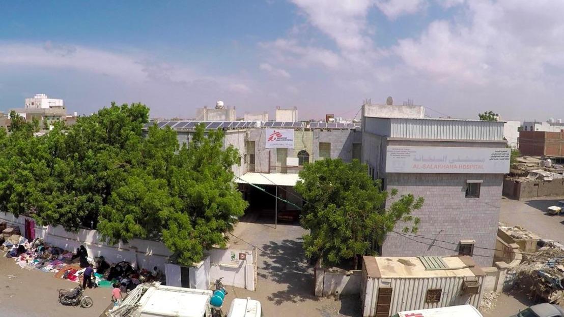 Yemen: Los hospitales y centros de salud amenazados por los combates en Hudaida