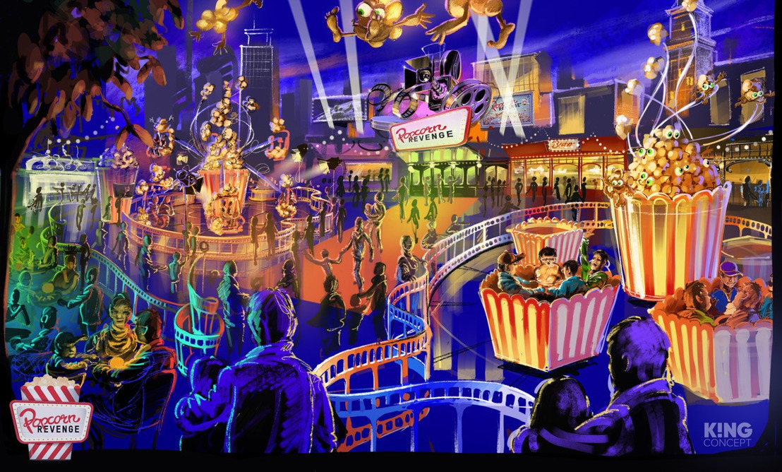 Alterface presents 'Popcorn Universe' at IAAPA EXPO