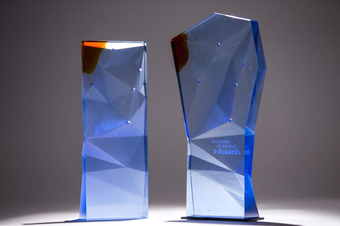 ANU reveals Mark II trophy for Australian of the Year Awards