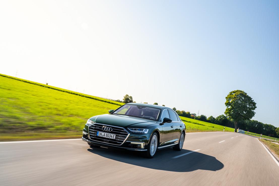 Luxe ontmoet efficiëntie: de Audi A8 L 60 TFSI e quattro