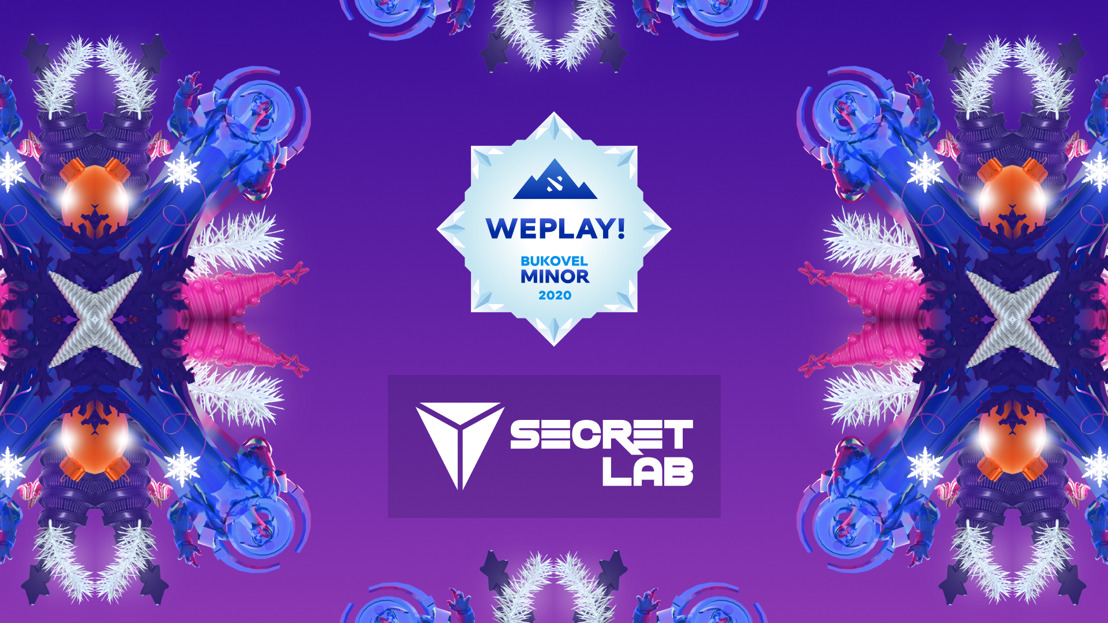 WePlay! Bukovel Minor 2020 partners with Secretlab to deliver the ultimate sitting experience for the players