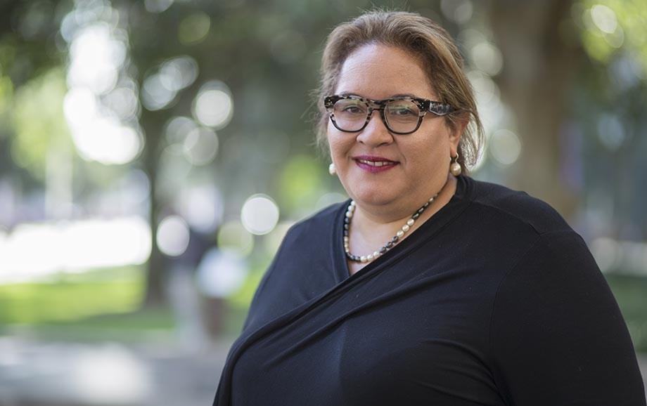 Professor Megan Davis, Indigenous Alumna of the Year. Image: Lannon Harley.