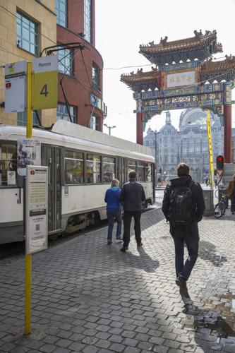 Tramlijn 12 in Antwerpen rijdt tijdelijk niet door werken