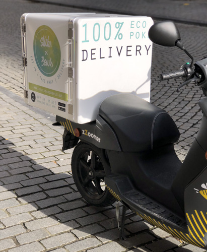 Preview: Sticks & Bowls levert met 100% ecologische scooters