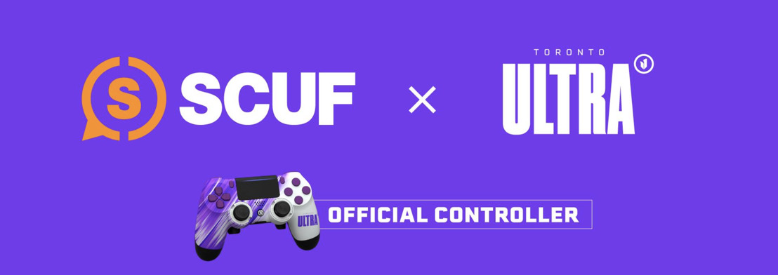 SCUF GAMING, TORONTO ULTRA RENEW MULTI-FACETED PARTNERSHIP