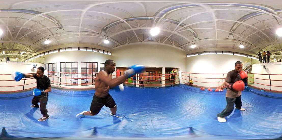 Francois Knoetze's Virtual Frontiers Masibambane Boxing Gym