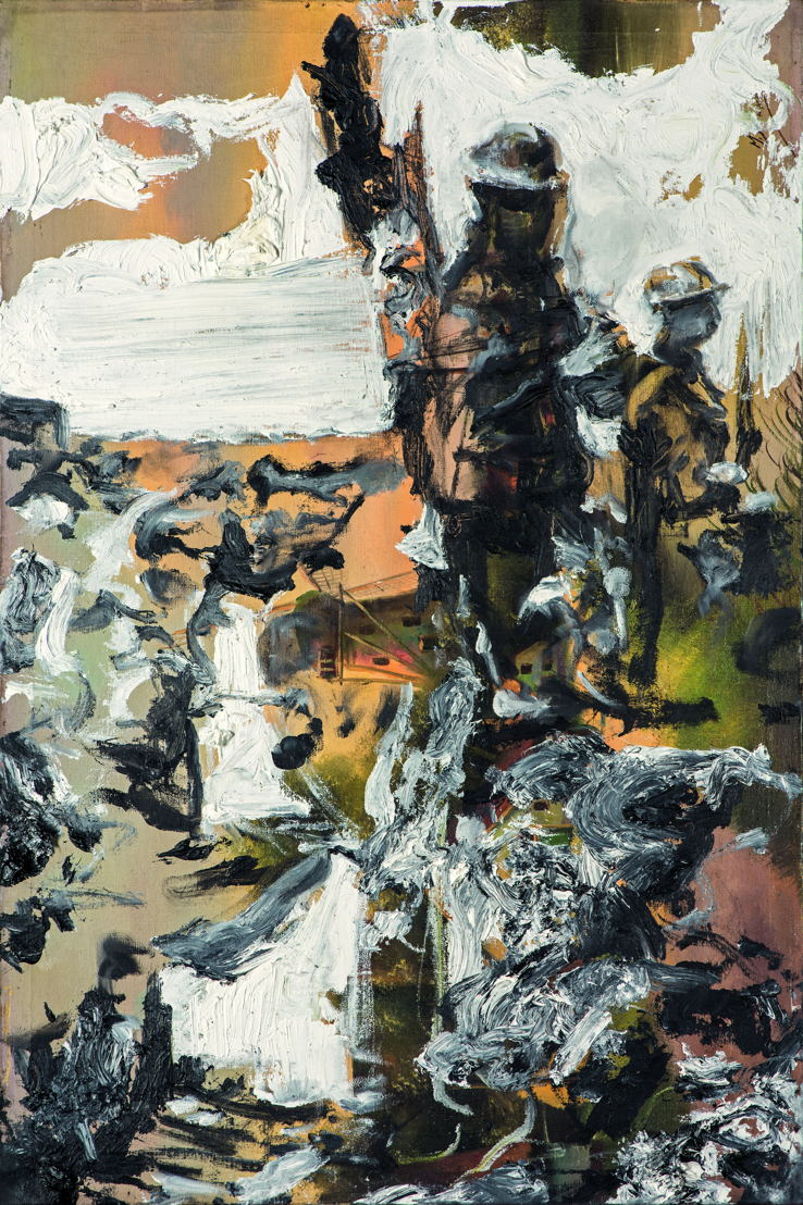 Passchendaele, 90 x 60 cm, oil on canvas
