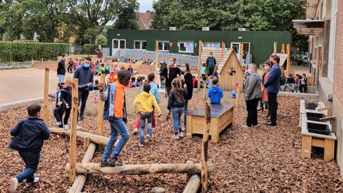 Nieuwe speelplaats voor zes Nederlandstalige scholen in Brussel