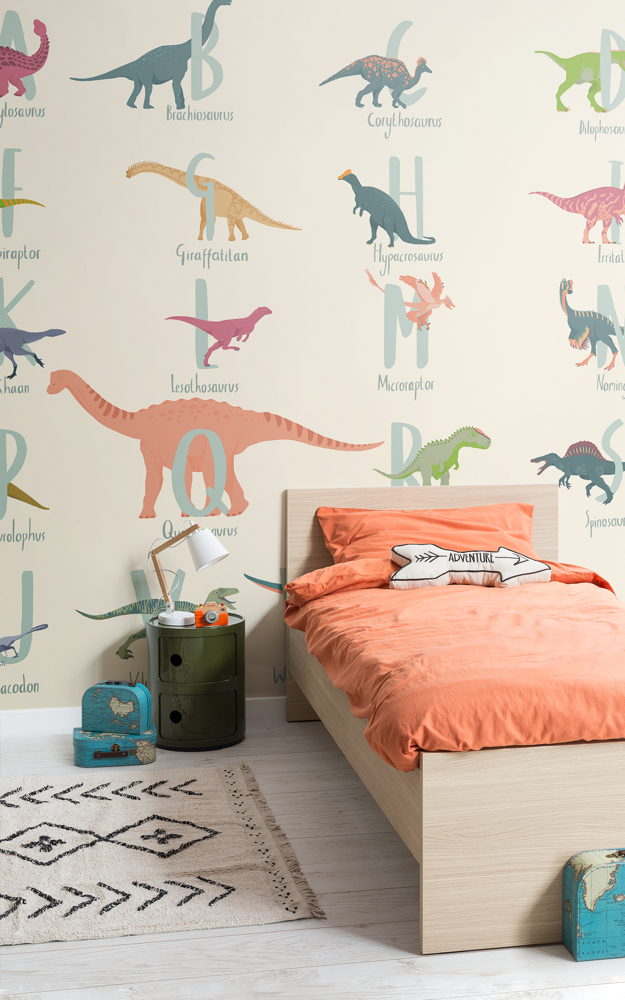Preview: These educational wall murals are every little dinosaur fan's dream