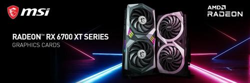 MSI enthüllt die brandneuen die Custom Radeon RX 6700 XT Grafikkarten