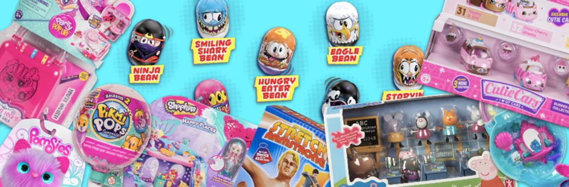 Bandai presenta su selección: 'El juguete más deseado Kids Choice 2019', con los juguetes más buscados para el Día del Niño